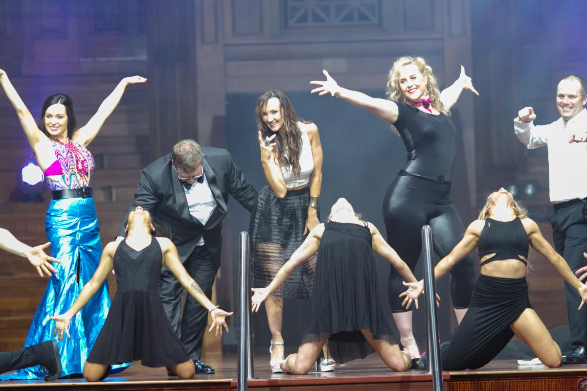 Sixe Dancing CEOs at Brisbane City Hall